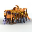 잠수함 조합놀이대(MEG-910)